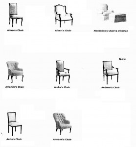 Chair Re-upholstery in Boca Raton