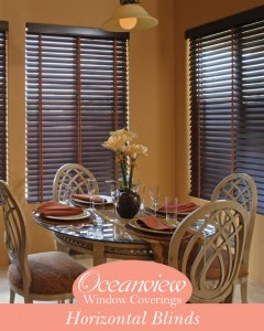 Horizontal Blinds custom fit in Boca Raton