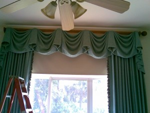 Window Treatment for a client in Boca Raton