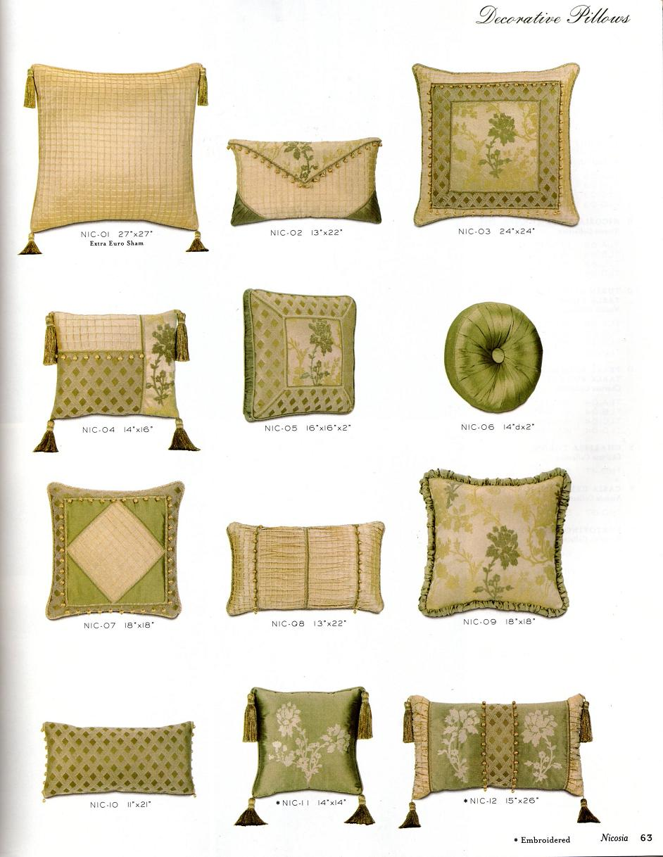 Boca Raton Shopping >> Pillows | SOS Boca Raton upholstery, blinds, window treatments, and drapery workroom