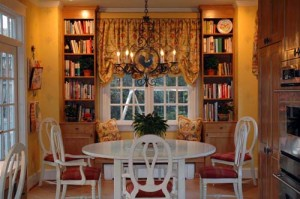 Drapery by interior designer Susan Jamieson of Bridget Beari Designs