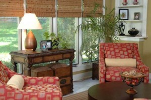 living space by interior designer Susan Jamieson