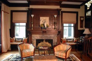 living room  by interior designer Susan Jamieson