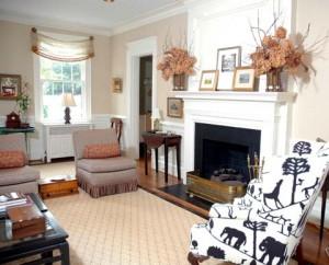 Another living room  by interior designer Susan Jamieson of Bridget Beari Designs