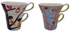 cups by Japanese designer shinzi katoh